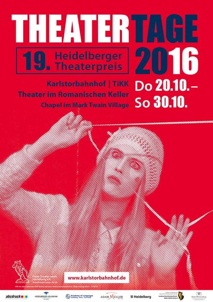 Plakat Heidelberger Theatertage